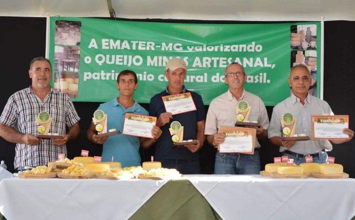 Divulgada a lista com os classificados para o concurso Estadual do Queijo Minas Artesanal das regiões de Araxá e Serro
