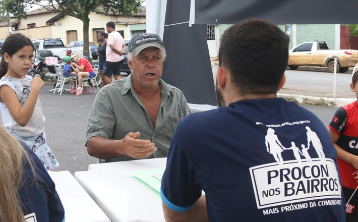 Procon nos Bairros atende consumidores no São Geraldo