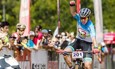 Brasil e Argentina sobem nos lugares mais altos do pódio na Short Track da CIMTB Levorin