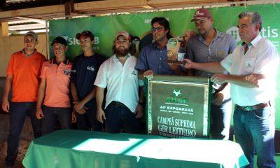 Vacas de Araxá e Passos campeãs do torneio leiteiro da EXPOARAXÁ