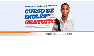 Governo de Minas Gerais oferece 1.700 vagas em curso gratuito de inglês na Uaitec