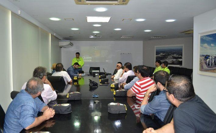 Vereadores visitam Mosaic Fertilizantes e conhecem estrutura da empresa