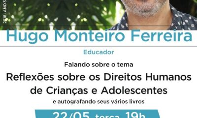 Não perca! Hugo Ferreira no Sempre um Papo no Uniaraxá