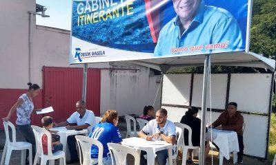 Robson Magela conversa com moradores dos bairros Abolição e Aeroporto