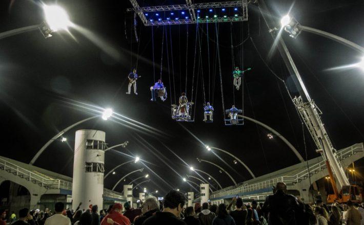 """Teatro Municipal recebeu """"Banda que Voa"""" no 27º Encontro SESI de Artes Cênicas"""
