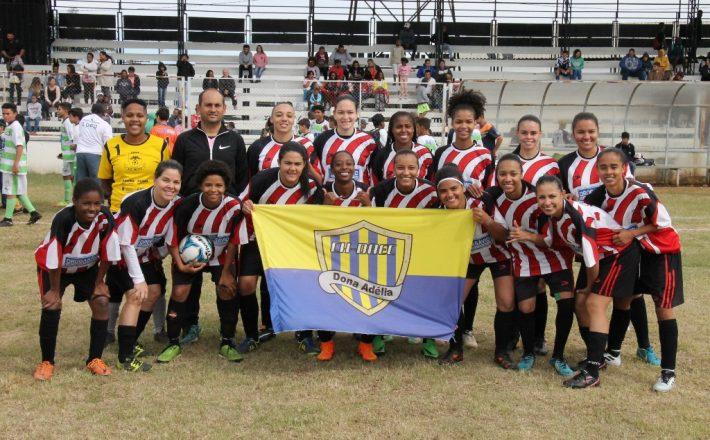 Macro vence novamente e conquista o 1° Campeonato Feminino de Futebol de Campo