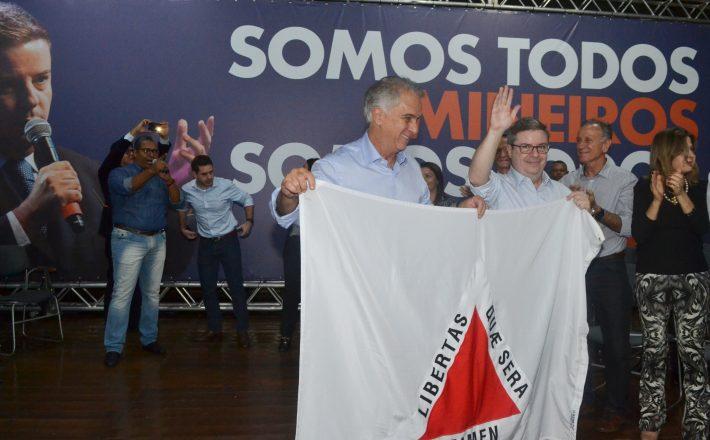 Em Uberaba, Anastasia anuncia Marcos Montes como pré-candidato à vice-governador