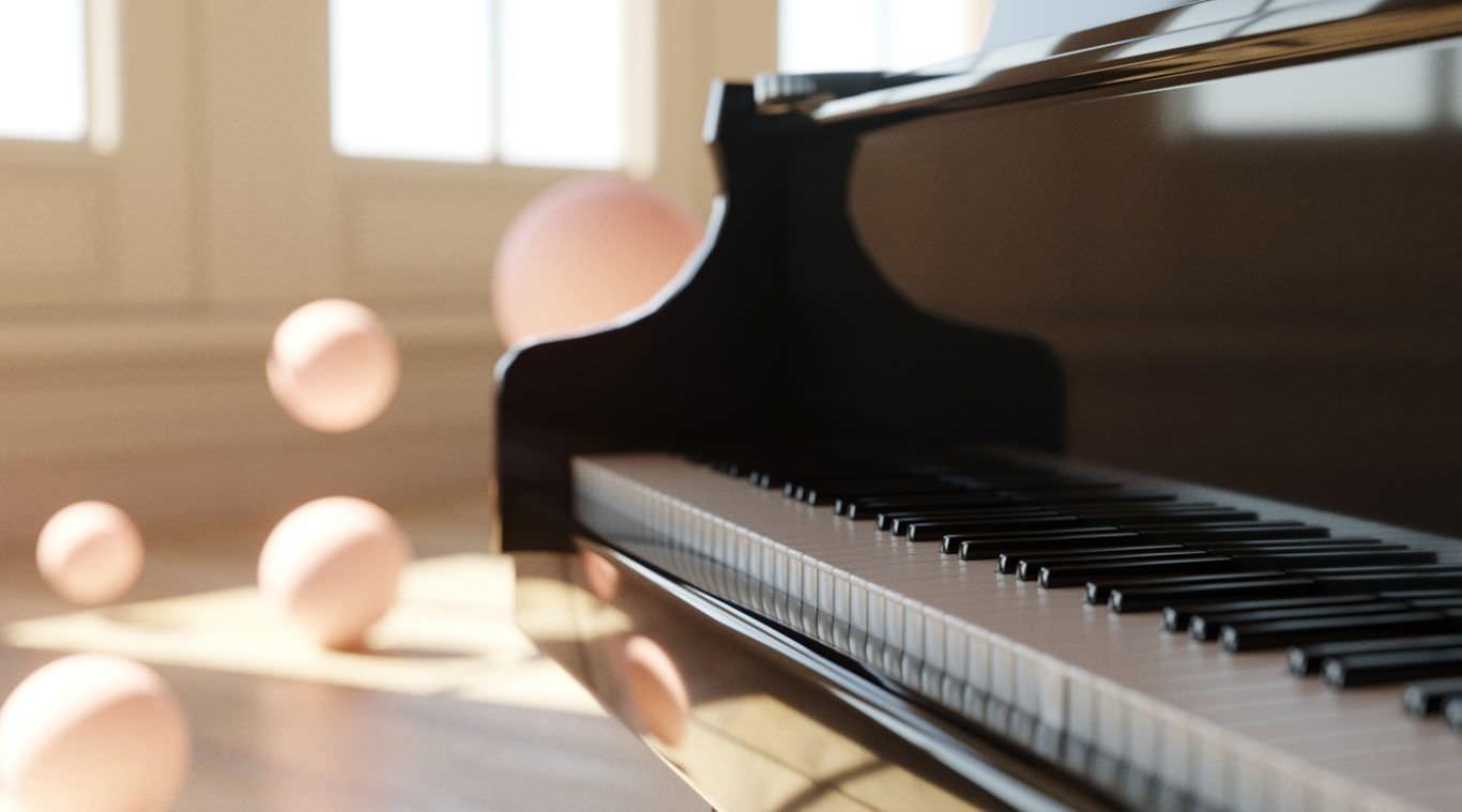 A vida é como um piano