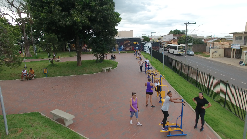 Parque do Cristo terá atividades físicas aos domingos