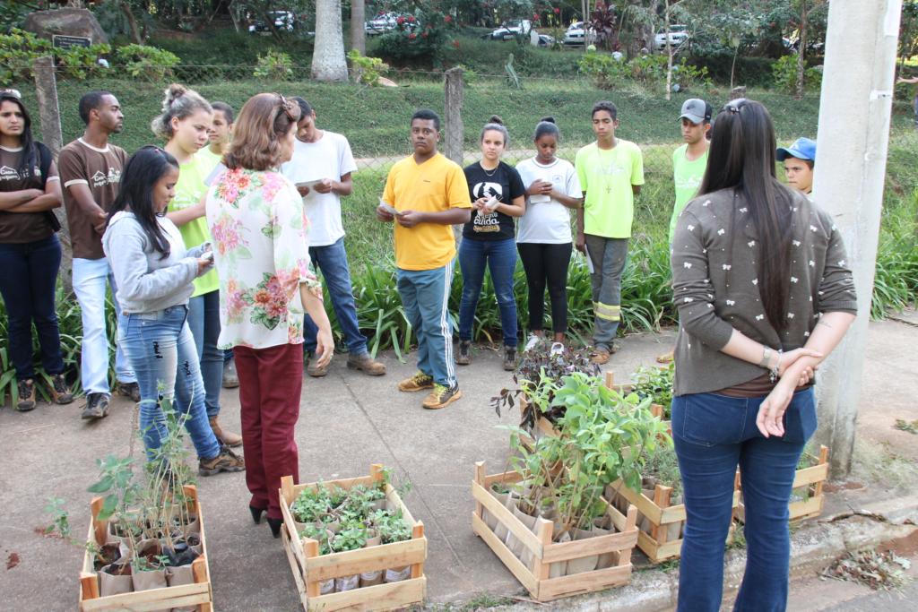 Jovens do Programa Casa do Pequeno Jardineiro desenvolvem ação socioeducativa