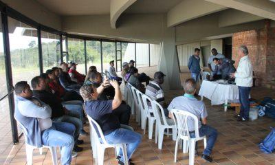 Servidores municipais passam por treinamento ministrado pelo Corpo de Bombeiros