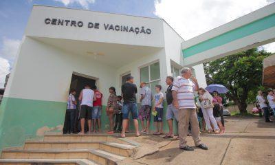 Melhora a cobertura da vacinação contra a gripe em Araxá