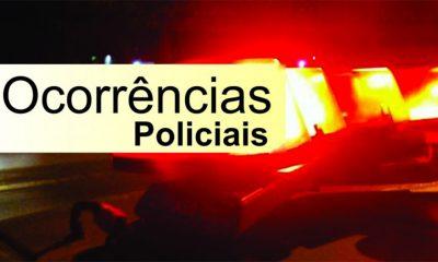 Ocorrências policiais de Araxá e região do final de semana(13, 14 e 15 de julho)