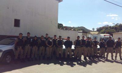 Polícia Militar realiza operação mandado de busca e apreensão em Tapira/MG