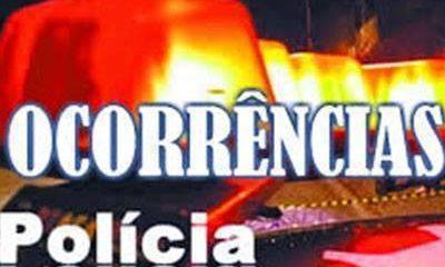 Ocorrências policiais de Araxá e região do final de semana(23, 24 e 25 novembro)