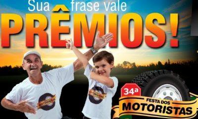 Festa dos Motoristas 2018: Aberto o Concurso de Frases de Pára-choque de Caminhão