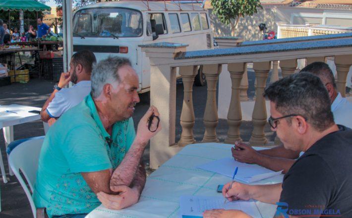 Robson Magela ouve a população do setor Leste no Gabinete Itinerante