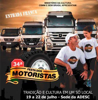 Magia, arte, música e humor na 34º edição da Festa dos Motoristas de Araxá
