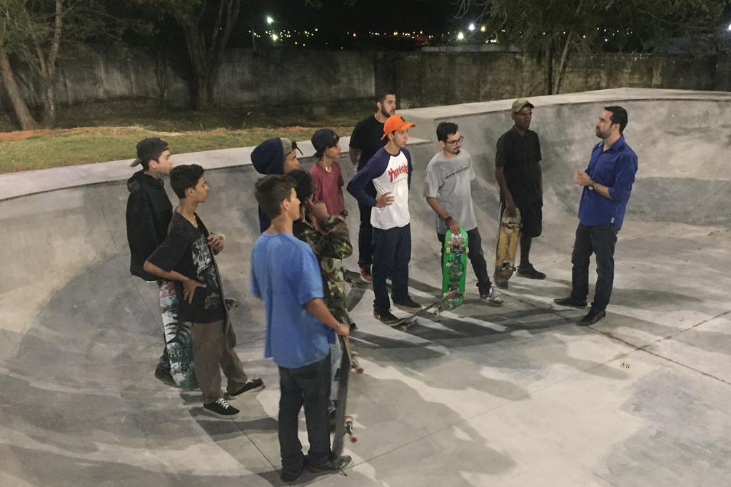Skate ganha espaço referência no Centro Esportivo Álvaro Maneira