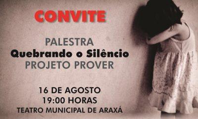 "Convite: Palestra ""Quebrando o Silêncio"""