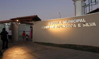 Escola Municipal Agar de Afonseca e Silva é inaugurada no Pão de Açúcar IV