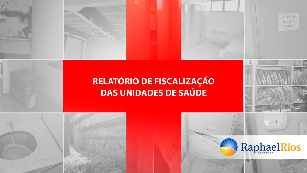 Raphael Rios entrega relatório de fiscalização das unidades de saúde para a secretária Diane Dutra