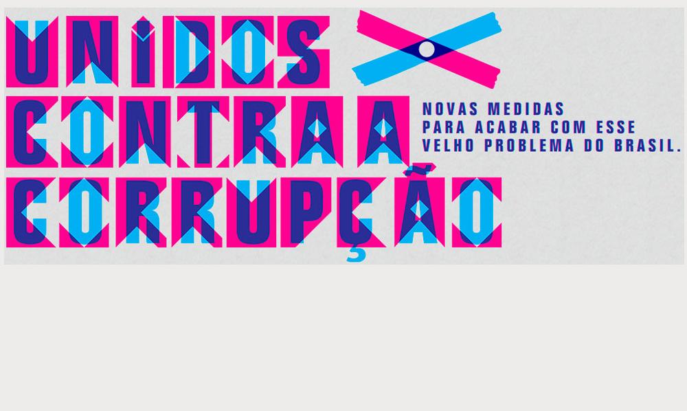 Portal Araxá manifesta apoio à campanha Unidos Contra a Corrupção