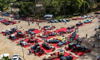 Uma oportunidade única de ver a história do carro reunida em Araxá