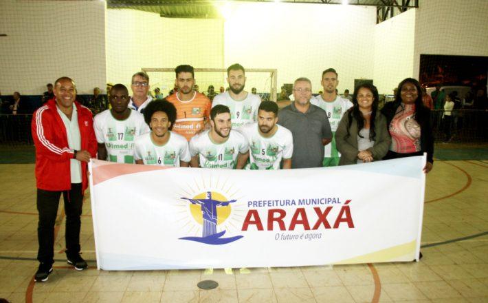 Araxá participa da Copa Futsal Band Triângulo