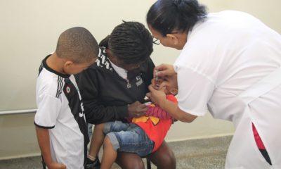 Araxá está com 90% de crianças imunizadas contra Sarampo e Poliomielite