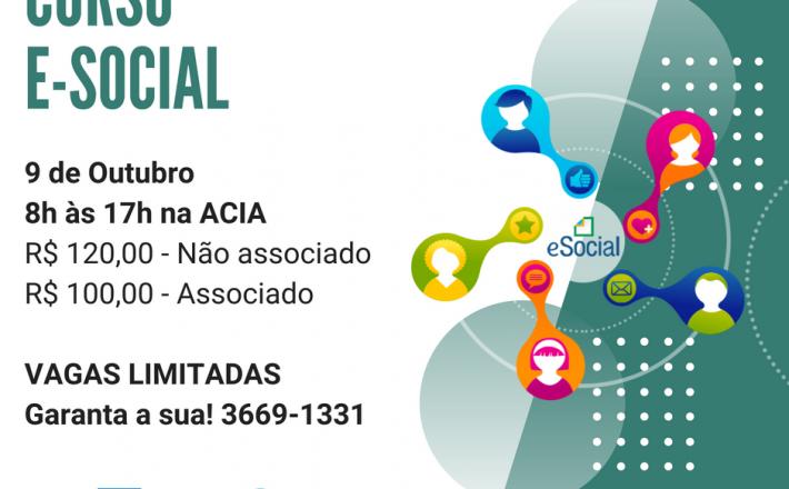 Curso e-social – 3° Turma