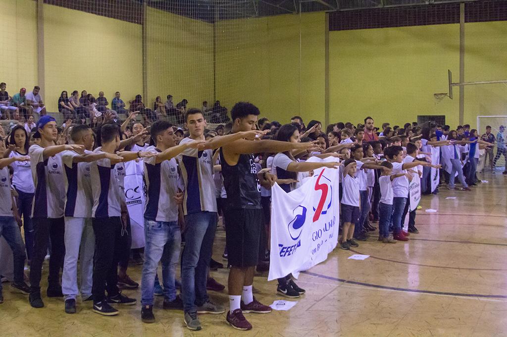 Jogos Estudantis contam com a participação de 3500 alunos em Araxá