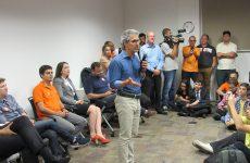 Vereadores participam de reunião com Romeu Zema em Belo Horizonte