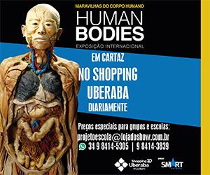 Exposição Human Bodies