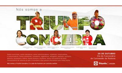 Triunfo Concebra celebra o dia do funcionário de concessão de rodovia