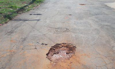 Robson Magela pede que Prefeitura tome providências sobre buracos nas ruas de Araxá