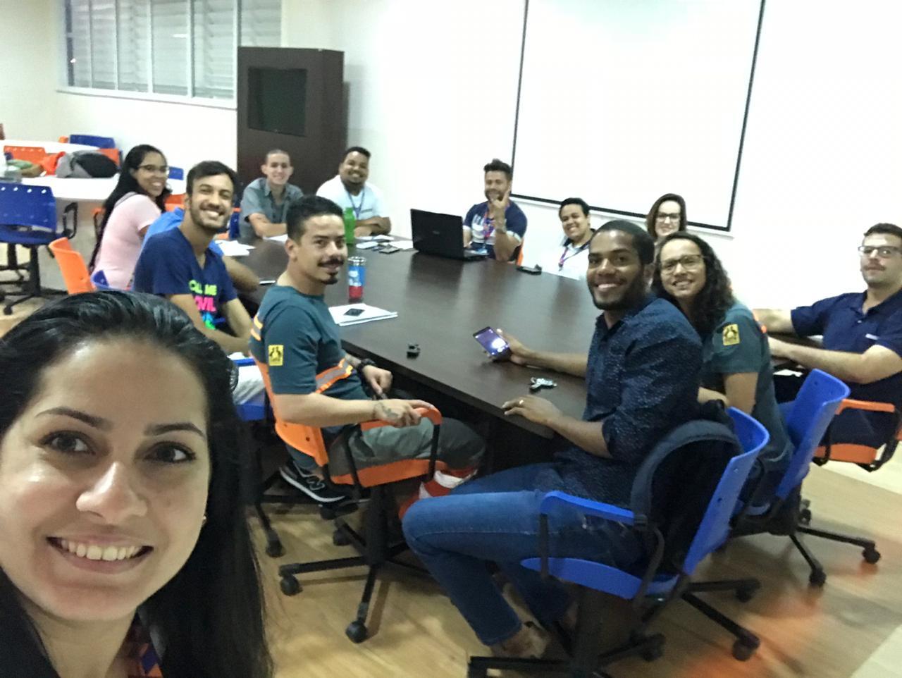Troca de experiências entre participantes do Projeto Rondon