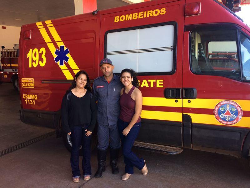 Atendimentos dos Bombeiros garantem a vida de milhares de crianças e criam laços fraternais em Minas Gerais