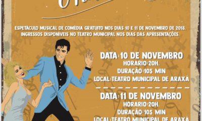 Teatro Municipal recebe espetáculo musical neste final de semana