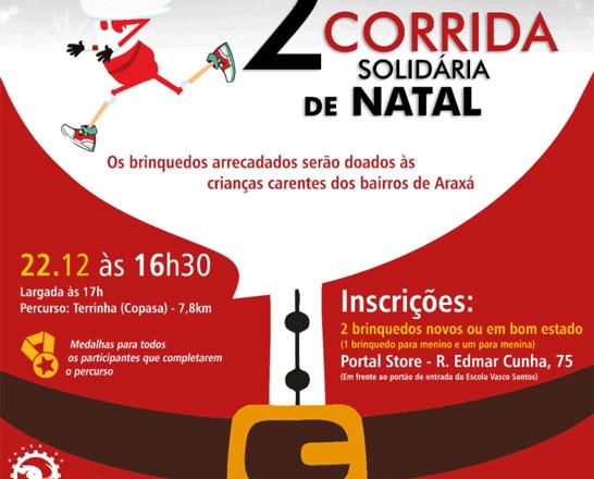 Inscrições abertas para a 2ª Corrida Solidária de Natal