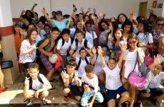 Prefeitura promoveu manhã esportiva para os alunos da Escola Municipal Dona Gabriela