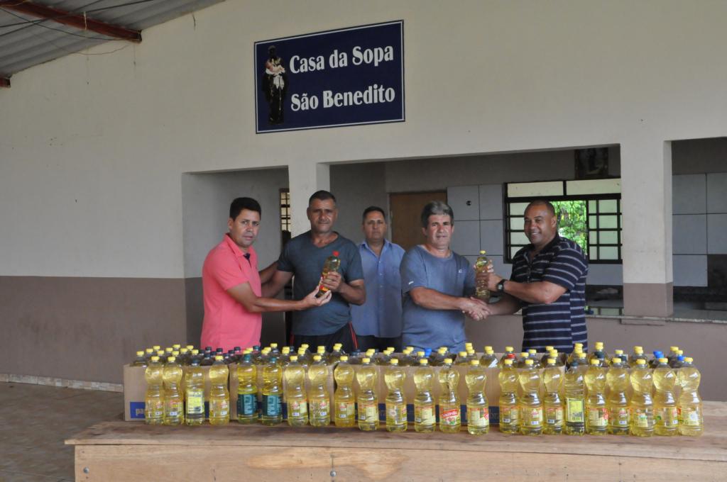 Ação solidária do Ruralão arrecada mais de 550 litros de óleo