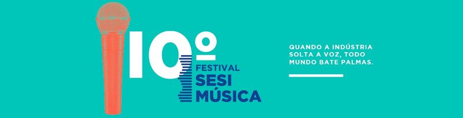 Estão abertas as inscriçõespara o Festival SESIMúsica Minas Gerais 10ª Edição