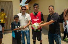 Projetos esportivos para as crianças encerram as atividades e correspondem às expectativas