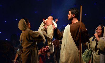 Auto de Natal encanta público com a história do nascimento de Jesus