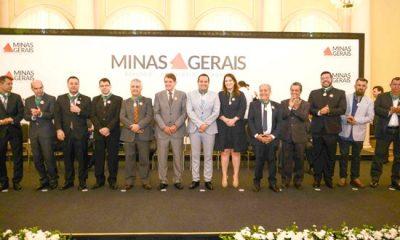 Governo de Minas entrega Medalha Calmon Barreto em Araxá