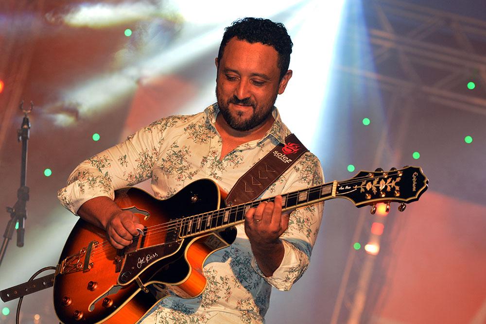 FestNatal abriu portas para baixista araxaense elogiado por grandes nomes da música