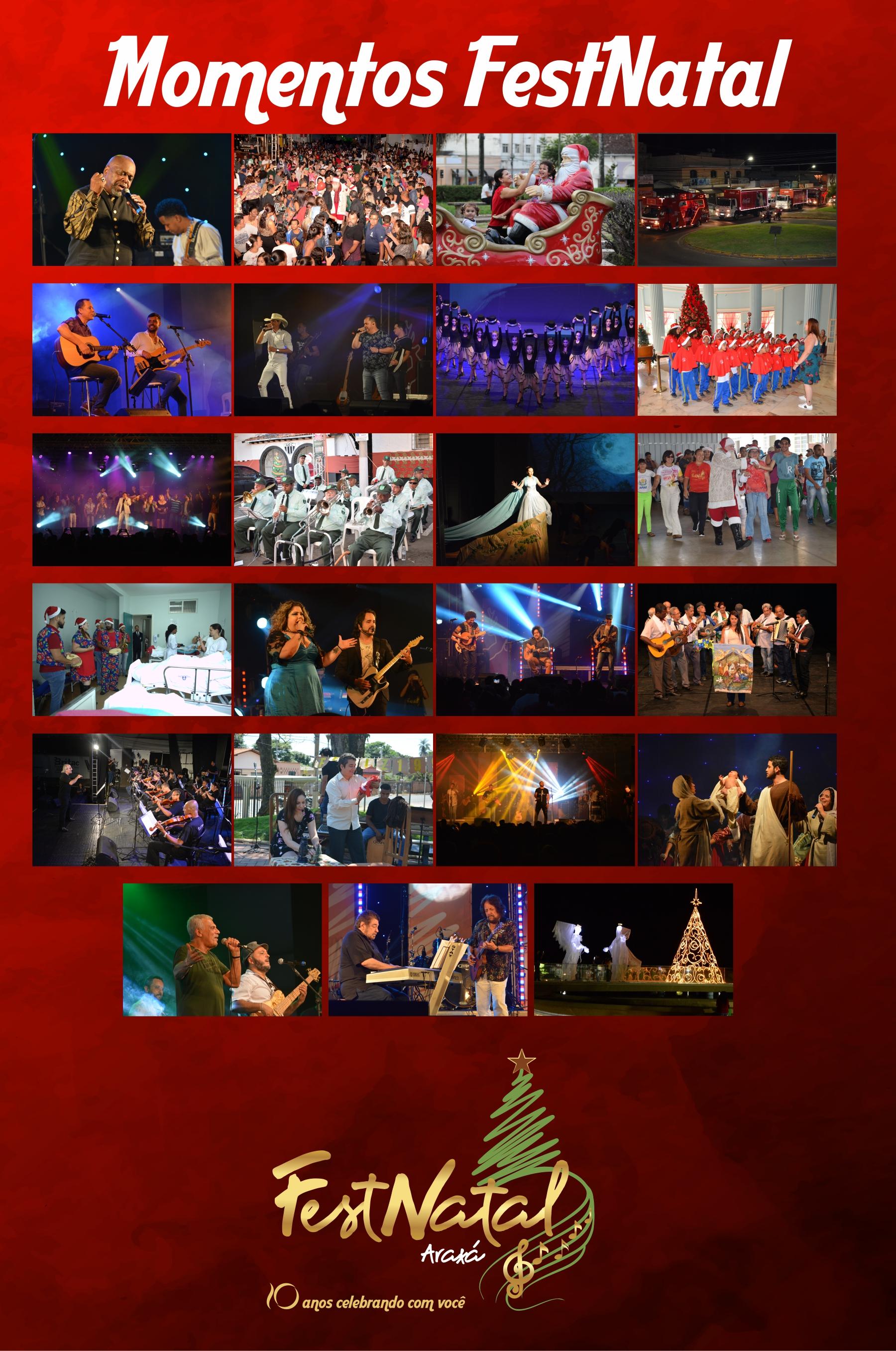 FestNatal termina com recorde de público em mais de 250 apresentações