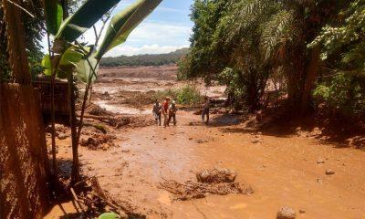 Barragem da Vale rompe em Brumadinho, Minas Gerais