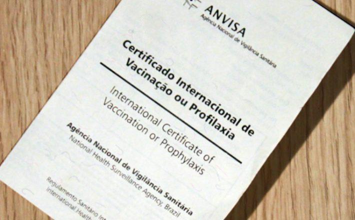 Certificado de profilaxia começa a ser emitido pela internet